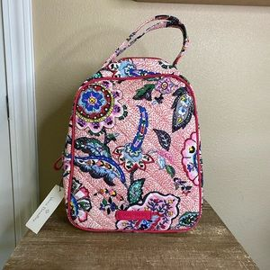 NWT Vera Bradley Quilted Insulted Lunch Bag